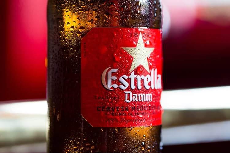 botella estrella damm